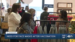 KC business hopes vaccine will mask use of face coverings