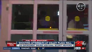 Shooting aftermath at Valley Plaza Mall