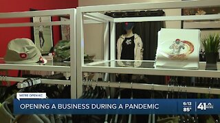 Opening a business during a pandemic