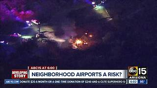 Deadly Scottsdale plane crash raising questions about neighborhood safety nearby