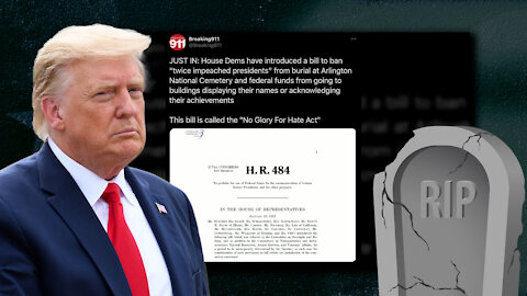 Dems Don't Even Hide Their Hate Now, Try to Block President Trump From Arlington Burial In New Bill