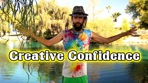 Developing Creative Confidence & Positive Intentions to Raise Your Vibration!