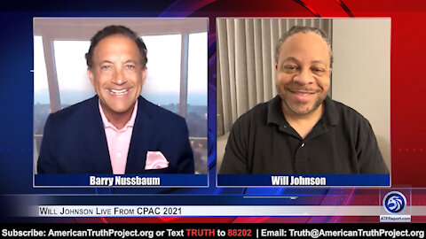 Will Johnson Live From CPAC 2021