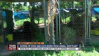 Dozens of animals seized from Hernando County sanctuary - Video