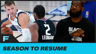 """NBA Players Have Decided To Resume Playoffs After """"Change In Position"""" From LeBron, Others"""