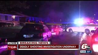 Person killed in shooting on Indianapolis' northeast side near 40th Street - Video