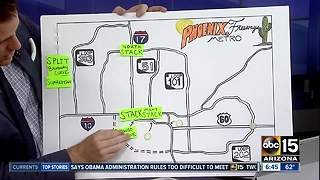 Phoenix freeway nicknames -- which one is which? - Video