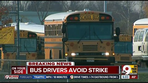Lakota Schools bus strike averted overnight, district says