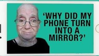 'Why Did My Phone Turn Into a Mirror?' – Grandma Discovers Selfie Mode
