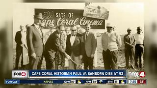 Cape Coral Historian Dies at 93 - Video