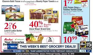 The best grocery deals this week! - Video