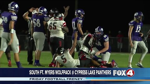 South Fort Myers High School Wolfpack at Cypress Lake Panthers