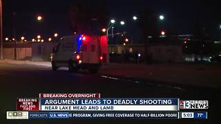 Argument leads to shooting in North Las Vegas - Video