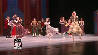 Capital Ballet Theatre performing The Nutcracker at Wharton Center - Video