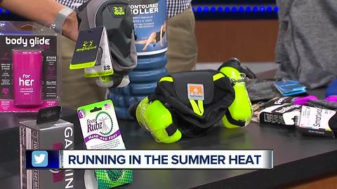 How to be safe while you're active in the summer heat