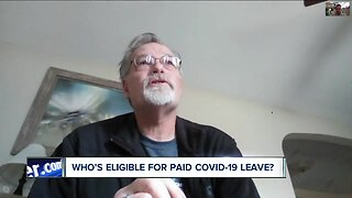 Who's eligible for paid leave under new COVID-19 laws?