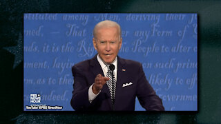 """Joe Biden Refuses To Answer Question About Stacking SCOTUS, Loses Cool and Tells Trump """"Shut Up"""""""