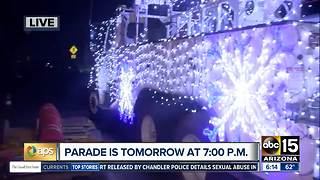 APS Light Parade to roll into Phoenix on Saturday - Video