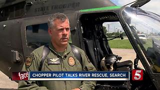 THP Pilot Rescued 9 From Cummins Falls, Including Family Of Killed 73-Year-Old Woman - Video