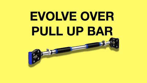 Evolve Over Home Pull Up Bar Review (Best Doorway Pull Up Bar)