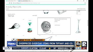 Tiffany's Everyday Objects causing sticker shock - Video