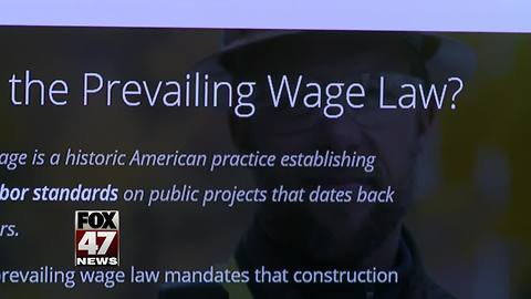 Ballot drive launched to keep prevailing wage law intact