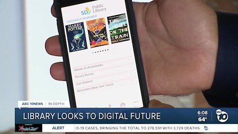 In-Depth: San Diego Library to expand digital options as pandemic ends