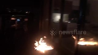 Valentine's Day surprise ends up with firefighters being called - Video