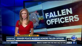 Denver Police Museum honors fallen officers - Video