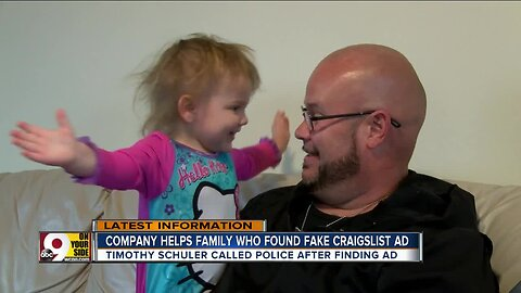 Dad gets reward for sounding alarm on fake Craigslist ad