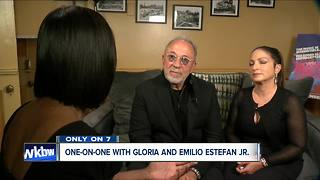 Liz Lewin sits down with powerhouse duo Emilio and Gloria Estefan at Shea's - Video