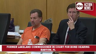 Judge sets bond at $150K for former Lakeland Commissioner Michael Dunn accused in murder of shoplifting suspect - Video