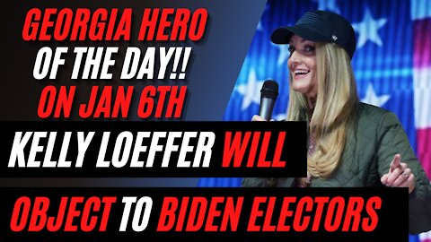 Kelly Loeffler WILL OBJECT to Biden's Electors on January 6! RARE APPEARANCE at Jaemor Farms