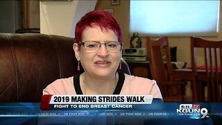 Making Strides: Local breast cancer survivor deals with triumph and fear