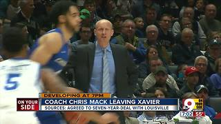 Coach Chris Mack leaving Xavier