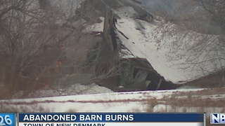 Barn fire - Video