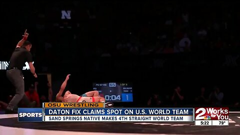 Daton Fix Secures Spot on OSU World Team