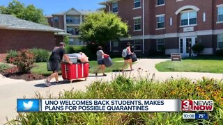 UNO Welcomes Back Students