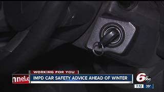 Car safety tips ahead of upcoming winter season
