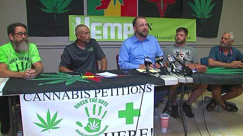 News conference held after lawsuits filed in response to medical marijuana regulations
