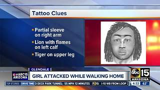 Police: Sexual assault suspect forces victim to ground in Glendale - Video