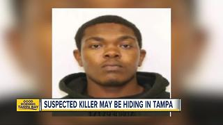Suspected killer from South Carolina may be hiding in Tampa, police say - Video