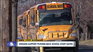 Poll results show Ohio voters want school to start after Labor Day - Video