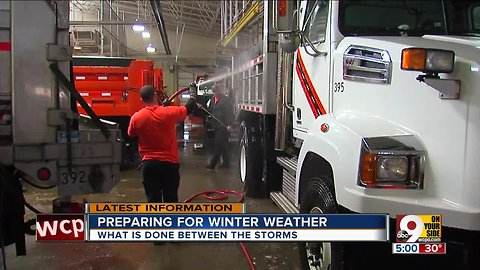 After snowstorm, ODOT workers and trucks need some TLC