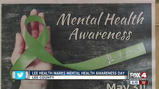 Lee Health celebrated mental health awareness day
