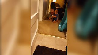 Baby's Escape Plan Backfires - Video