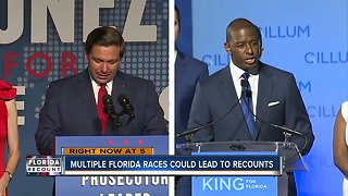 Multiple Florida races could lead to recounts