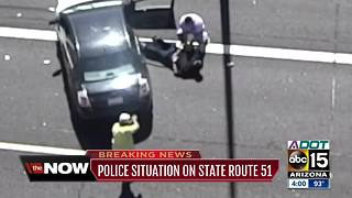 Reckless driver in custody after Phoenix pursuit - Video
