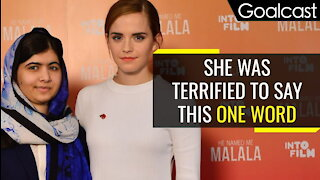 What did Malala Learn From Emma Watson?
