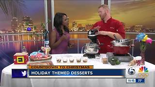 Holiday-themed desserts - Video